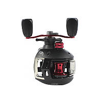 Катушка Reelsking СD 200 Black-Red Right рыболовная для правой руки пресноводной рыбалки