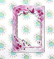 Магнитная рамка на холодильник Бабочки, фото 1