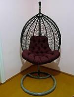 Подвесное Кресло Качеля Кокон Стойка и Подушка Полный Комплект