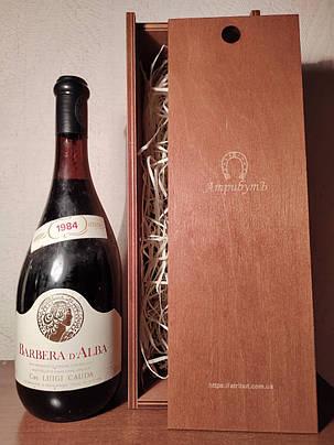 Вино 1984 года Barbera D`Alba  Италия, фото 2