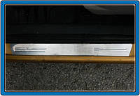 Citroen C-3 Накладки на дверні пороги (нерж.) 4 шт.