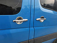 Хром под ручки Volkswagen Crafter (Кармос, комплект), фото 1