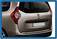 Накладки на кромка багажника Dacia Lodgy