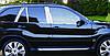 BMW X-5 E53 Молдинги дверних стійок (сталь)