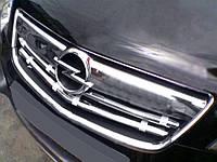 Opel Antara Накладки на решітку радіатора нерж., фото 1