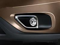 Omsa Fiat Doblo 2014 Окантовка противотуманок