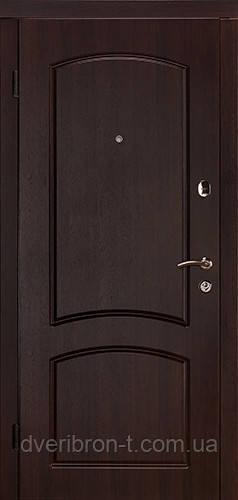 Входная дверь Капри-В 880 тёмный орех