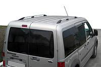 Алюминиевые рейлинги на крышу Ford Connect с металлическими ножками, фото 1