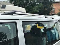 Рейлінги хром з пластиковими ніжками для Volkswagen T5 довга база, фото 1