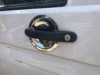 Накладки под ручки Volkswagen FaceLift T5 (3 шт, Carmos), фото 1