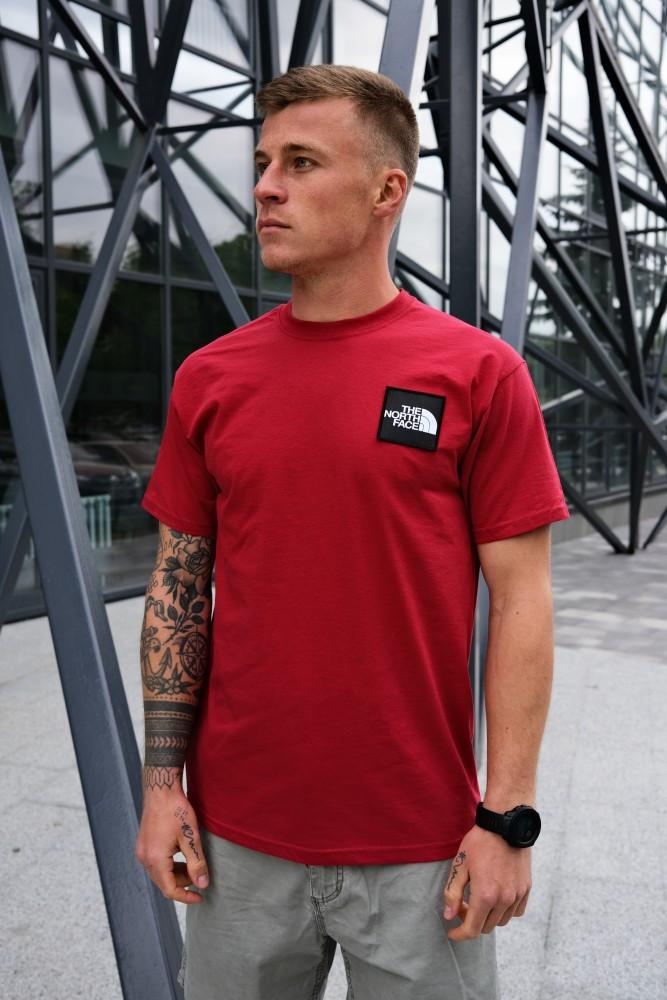 Футболка The North Face (Красная)