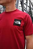 Футболка The North Face (Красная), фото 3