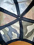 Кепка Камуфляжна К01 з сіточкою без нашивок, фото 2