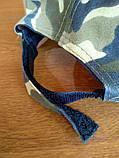 Кепка Камуфляжна К01 з сіточкою без нашивок, фото 3