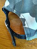 Кепка Камуфляжна K02 з сіточкою без нашивок, фото 4