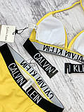 Купальник женский Calvin Klein B28 Желтый, фото 3