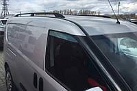 Fiat Nuovo Doblo Maxi Рейлінги Чорні з пластиковими кінцевиками, фото 1