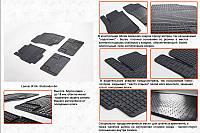 Mitsubishi Outlander гумові килимки Stingray Premium, фото 1