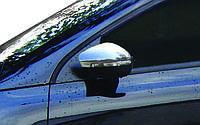 Volkswagen Polo 2009-2017 HB Накладки на дзеркала 2 шт нерж