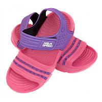 Детские пляжные сандалии Aqua Speed Noli 25 Розовый с фиолетовым (aqs233)