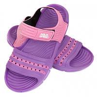 Детские пляжные сандалии Aqua Speed Noli 31 Фиолетовый с розовым (aqs245)
