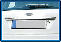 Ford Fiesta Накладка над номером на кришку багажника OmsaLine, фото 1
