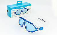 Очки-полумаска для плавания MadWave SIGHT II M046301 Blue (SP00088)