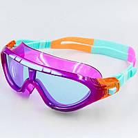 Очки-полумаска для плавания детские SPEEDO BIOFUSE RIFT JUNIOR 801213C102 Violet (SP00099)