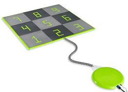 Ігровий килимок-пазл EXIT Sprinqle з підключенням води 150х150см
