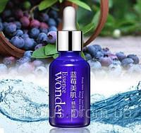 Сироватка для обличчя з екстрактом чорниці і гіалуронової кислотою Bioaqua Wonder Blueberry Essence