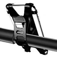 Вело крепление для телефона на руль велосипеда Usams силиконовый Серный (2282)