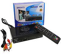 T2-тюнер ресивер DVB-T2 BEKO T777 4K IPTV YouTube