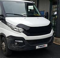 Iveco Daily 2014-2021 Дефлектор капота EuroCap, фото 1