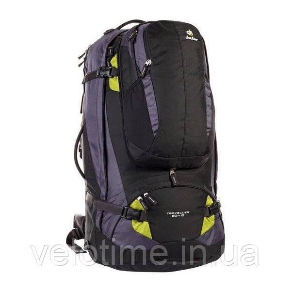 Рюкзак Deuter Traveller 80 + 10 (black-moss)