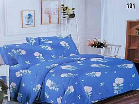 Комплект постільної білизни 1,5 спальний 70*70 полібязь 3Д арт.101 ТМ Constancy