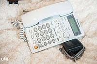 Стационарный телефон Panasonic KX-TMC40RUW (с автоответчиком), бу