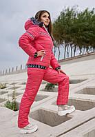 Жіночий лижний костюм на хутрі батал SKL11-279624