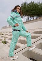 Жіночий лижний костюм на хутрі батал SKL11-279627
