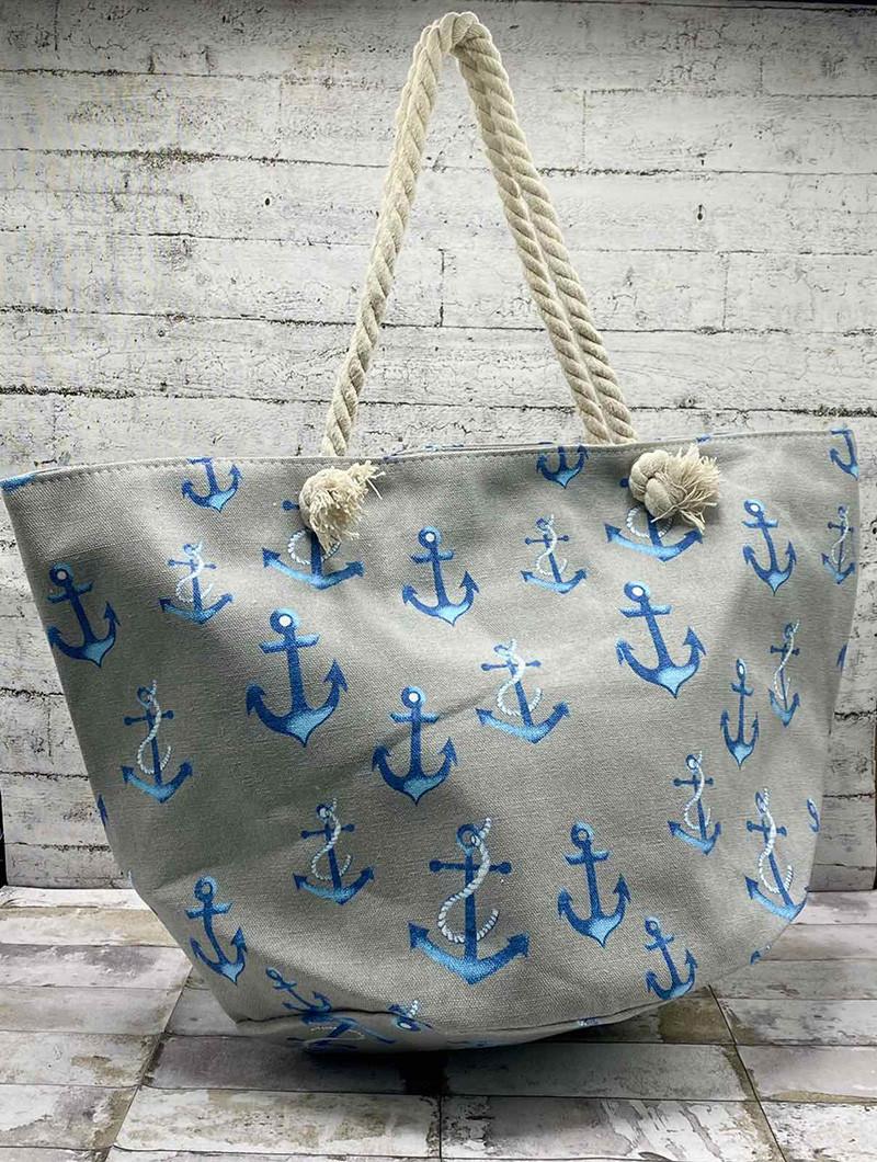 Літня сумка-мішок Якір.