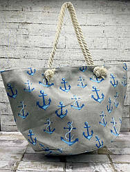 Летняя сумка-мешок Якорь.