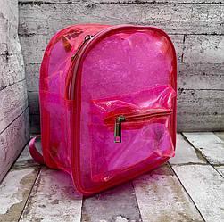 Яскравий дитячий силіконовий рюкзак.
