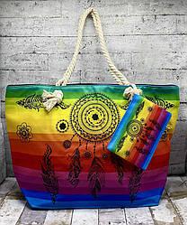 """Літня сумка з візерунком """"Ловець снів"""""""