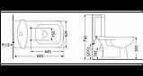Компакт Devit Comfort 3110123, 685х405х790 мм, фото 2