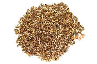 Втулки латунные для пчелиных рамок 100г