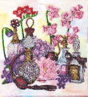 Набор для вышивания бисером Цветочный шлейф
