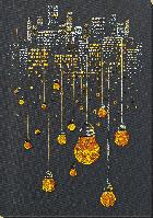 Набор для вышивки бисером на натуральном художественном холсте Ламповый вечер