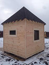 Апи-домик Модель №1 (в виде пирамиды «Золотое сечение»)
