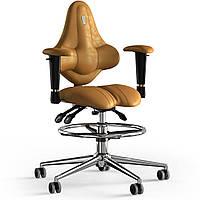 Кресло KULIK SYSTEM KIDS Антара с подголовником без строчки Медовый 15-901-BS-MC-0310, КОД: 1689647