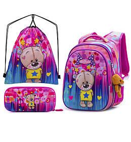 Рюкзак школьный для девочек SkyName R1-011 Full Set