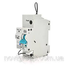 Автоматичний вимикач 1P/220V/16A з вітдаленним управлінням через WiFi
